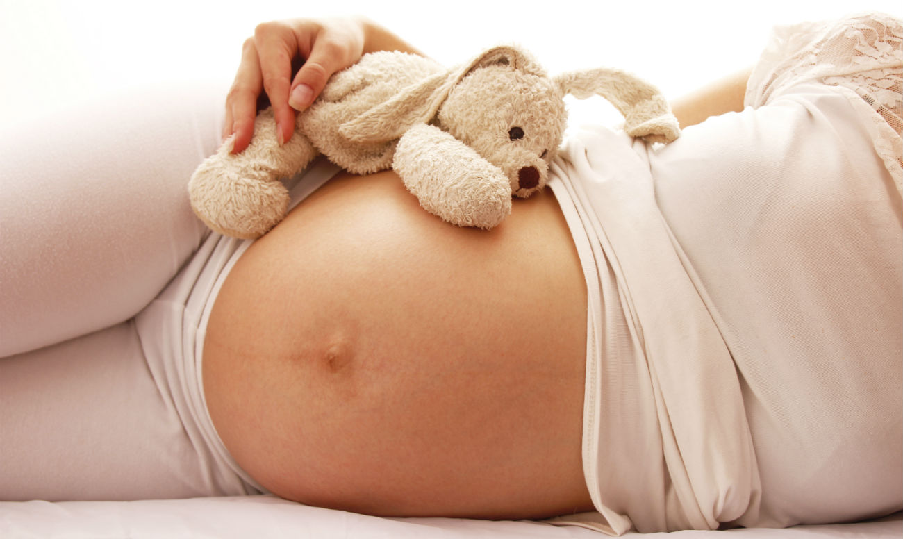 Джинсы бойфренды на беременных 98