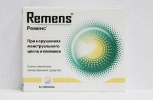 Применение препарата Ременс при климаксе