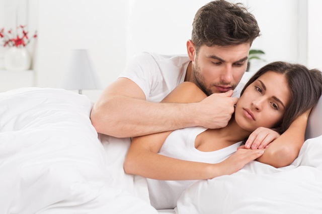 Незащищенный прерванный секс с постоянным партнером