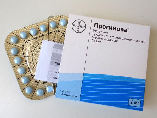 Прогинова в схемах лечения бесплодия